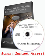 Hypnotic elevator pitch NLP sales