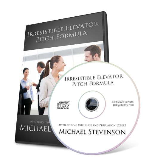 Irresistible Elevator Pitch Formula with NLP