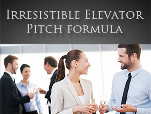 Irresistible elevator pitch Formula NLP sales