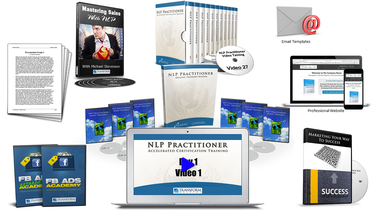 NLP Practitioner Online Certification Training Bundle