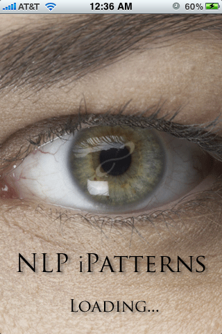 NLP Eye Patterns iPhone app